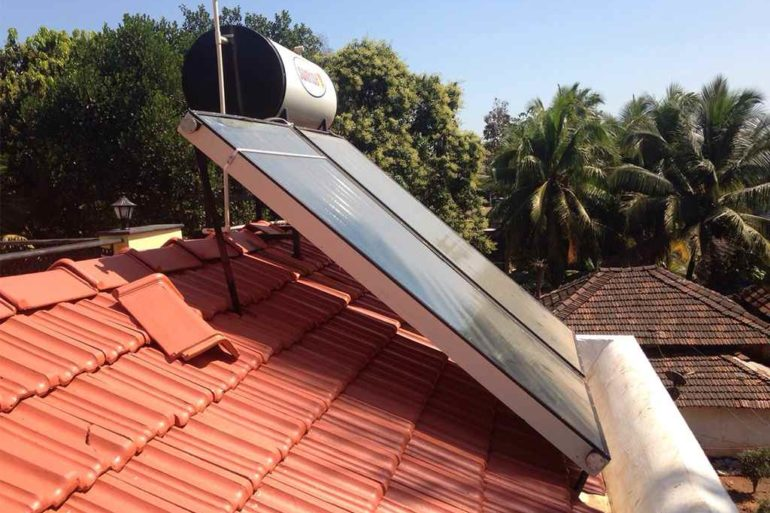 SOLAR POWER SYSTEM FOR HOMES