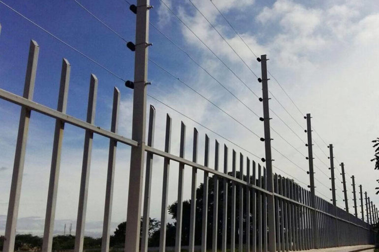 SOLAR POWER SECURITY FENCING @ HONEYWELL, MADURAI